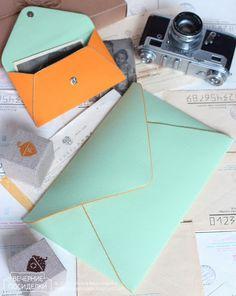 Клатч-конверт / Envelope clutch
