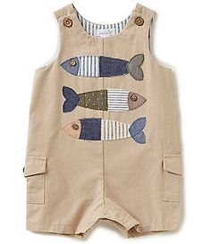 Mud Pie Baby Boys Months Fish Appliqued Shortall Mud Pie Baby Boys Months Fish Appliqued S Little Boy Outfits, Baby Boy Outfits, Kids Outfits, Preppy Outfits, Baby Boy Fashion, Fashion Kids, Baby Boys, Carters Baby, Baby Gap