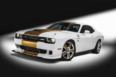 Hurst 2016 Dodge Challenger http://www.musclecardefinition.com/