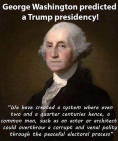 President Trump, George knew