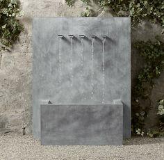 fontaine murale super élégante et belle
