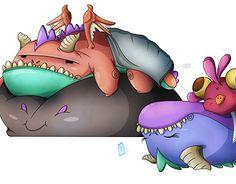 "Check out new work on my @Behance portfolio: ""Sleepy Dragons"" http://be.net/gallery/53638451/Sleepy-Dragons"