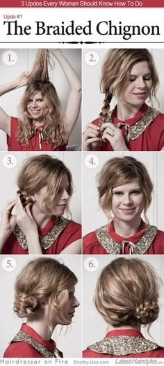 The Braided Chignon from Hairdresser on Fire
