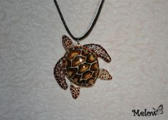 Turtle Fimo/polymer clay by Melow-Fimo.deviantart.com on @DeviantArt