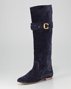 Suede Paddington Boot by Chloe at Neiman Marcus.