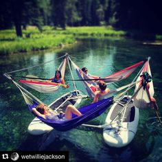 Summer dreaming of the Hammocraft in Jackson Hole Wyoming! by @hammocraft