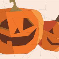 Pumpkin Mug Rug - via @Craftsy