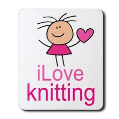 Do you love #knitting?  Then you'll love this cute poster!