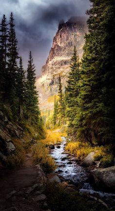 Ominous Skies on the Fern Lake Trail (Colorado) by Dean Fikar / 500px