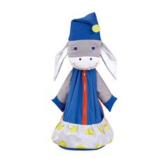 Donkey pyjama bag ... created in France for children to treasure.  http://www.spiritedmama.com