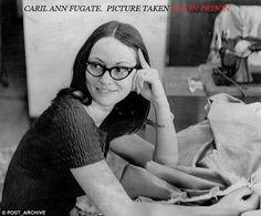 Caril Ann Fugate. photo taken in 1973.