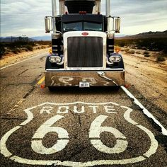 Route 66...wish the route was still fully available, but I have enjoyed the remaining bits.