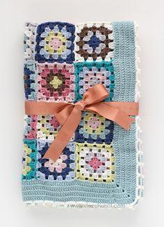 Şirin Bebek Battaniyesi - Pretty Baby Blanket
