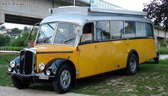 "Thanks to Jean-Claude M, Pas de Calais, ""a former bus brand SAURER 1954 SWITZERLAND"