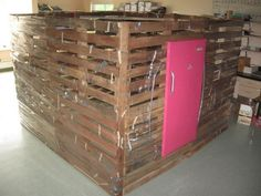 Pallet House to Save the World. or a Garden Shed. : 11 Steps (with Pictures) -. - Pallet House to Save the World… or a Garden Shed. : 11 Steps (with Pictures) – Instructables - Pallet House Plans, Pallet Shed, Pallets Garden, Diy Pallet, Pallet Ideas, Pallet Projects, Pallet Fort, Pallet Gardening, Outdoor Pallet