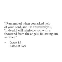 The 17th of Ramadhan marks the anniversary of the battle of badr the day 313 believers had victory over 1000, the greatest battle ever in the history of islam ✨The believers were so unprepared on the day of this battle, they were 313 men vs 1000, 2 horses in his entire camp vs 200 horses , 70 camels vs over 1000 camels and they had very little armour, the maximum one had was one sword and one shield. The original plan was that they were going to attack the caravan which was lead by Abu…