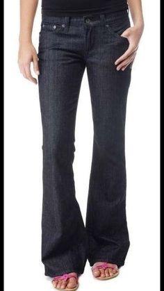 Lucky Brand Southside Zoe Flare Women's Stretch Dark Jeans Sz 12 Or 31 x 32 New! #LuckyBrand #Flare