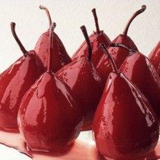 Pears Baked in Marsala Wine