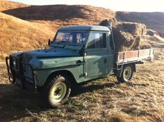34 years old and my Land Rover Series 3 is still working hard.