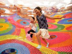 Toshiko Horiuchi crea esculturas para niños   Garuyo.com