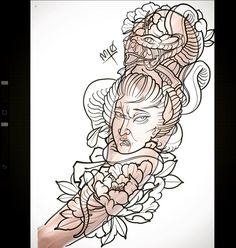 Tomorrow's project on Ryan, excited for another big ass Japanese back piece Leg Sleeve Tattoo, Irezumi Tattoos, Leg Sleeves, Back Pieces, Snake Tattoo, Japanese Design, Oriental, Anime, Snakes