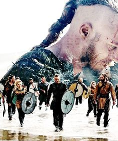 Find images and videos about vikings, lagertha and travis fimmel on We Heart It - the app to get lost in what you love. Vikings Show, Vikings 2, Vikings Tv Series, Norse Vikings, Ragnar Lothbrok Vikings, History Channel, Wallpaper Vikings, Thor, Vikings Travis Fimmel