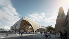 Oxford Station Design Competition winner on Behance