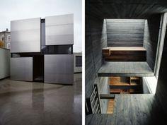 Modern Box-Geometric Prefab House Design - Exteriors