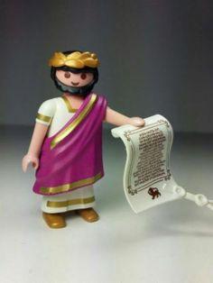 Playmobil emperador romano belen