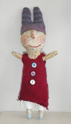 Doll from Julie Arkell. I love Julie Arkell's work!