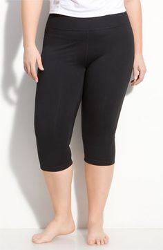 Zella 'Live In' Capri Pants (Plus Size) available at #Nordstrom