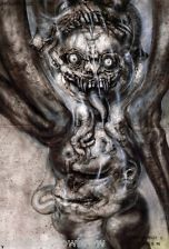 hr giger pII the great beast « Paintings « H.R.Giger « Artists « Art might - just art Hr Giger Alien, Hr Giger Art, Xenomorph, Chur, Arte Horror, Horror Art, Art Zombie, Alien Art, Baphomet