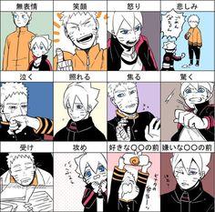 Naruto y Boruto Naruto Shippuden, Sasuke, Naruto Comic, Naruhina, Naru Love, Naruto New Generation, Familia Uzumaki, Uzumaki Family, Boruto Naruto Next Generations