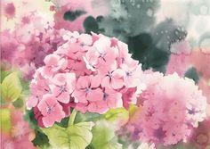 紫陽花 Hydrangea青木 美和 Aoki Miwa120,000円(1,320US$)