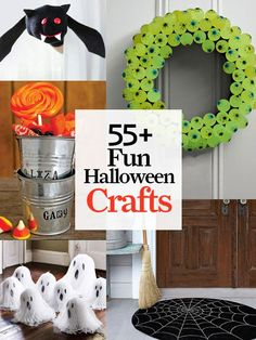 DIY:: #55 Fun--and Eerily Easy- Fall & Halloween crafts !