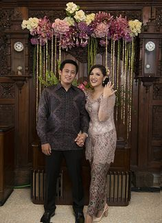 Javanese Engagement at Roemah Kebaya Lace, Kebaya Hijab, Fashion Model Poses, Fashion Models, Trendy Fashion, Engagement Dresses, Wedding Dresses, Hijab Prom Dress, Kebaya Wedding