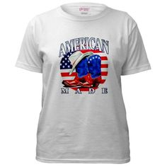 Super Cool Artsmith, Inc. Women's T-Shirt American Made Country Cowboy Boots and Hat