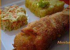 Kuřecí smažený špíz recept - TopRecepty.cz Baked Potato, Muffin, Rice, Potatoes, Baking, Breakfast, Ethnic Recipes, Morning Coffee, Potato