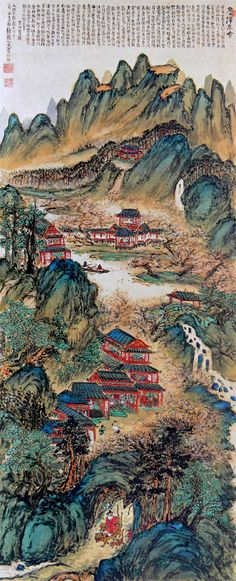 TOMIOKA Tessai (1837-1924), Japan 富岡鉄斎. omioka Tessai was the pseudonym for a painter and calligrapher in imperial Japan. He is regarded as the last major artist in the Bunjinga tradition and one of the first major artists of the Nihonga style.