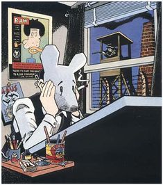 Arthur Spiegelman was born in Stockholm, Sweden, and immigrated to the United States with his parents in his early childhood. Spiegelman studied cartooning in high school and started drawing professionally at age sixteen. Despite his parents wanting him to become a dentist, Art Spiegelman majored in art and philosophy at Binghamton University's Harpur College of Arts. After leaving college in 1968, he joined the underground comix movement.