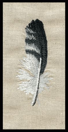 machine-embroidery-feather