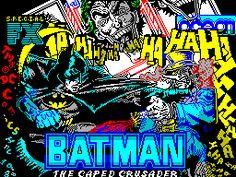 Batman - The Caped Crusader - Loading screen - ZX Spectrum