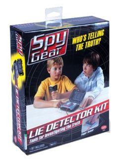 $14.99online price  Spy Gear Lie Detector