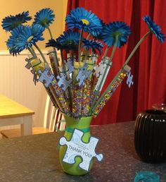 Aimee's Craft: Autism Awareness Day COOL IDEA