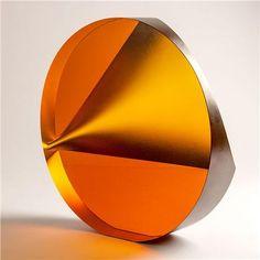 Petr Hora-Juno in Dark Amber Art Glass Sculpture
