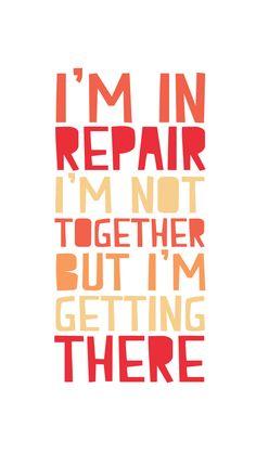 In Repair♥