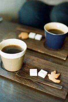 Cafe madera.