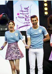 Violetta und Leon #ViolettaLIVE #TiniUndJorge
