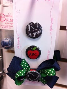 Dragonfly Buddy Button for St. Joseph School in Cottleville, MO