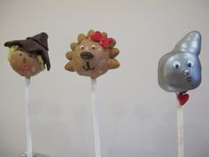 Wizard of Oz Cake Pops